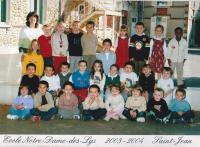2003 2004 ms mme etasse